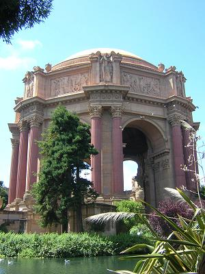 Ruin of the Palace of Fine Arts